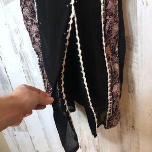 Dresses - Renaissance Fairytale Sheer Embroidered Robe Dress
